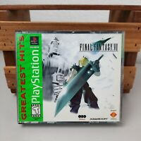Final Fantasy VII (PlayStation 1) Greatest Hits - Original Case  * Tested*