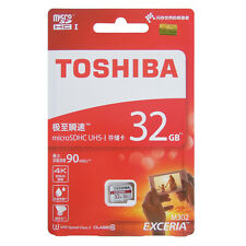 Toshiba microSDHC Class 10 32gb Exceria M302 UHS I Adapter