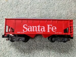 American Flyer #24225 S.F. Santa Fe red painted hopper all steps intact knuckle