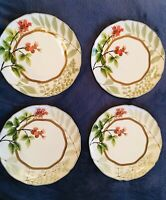 "Noritake Berries And Brambles 9-3/8"" Accent Luncheon Plates Set of 4"