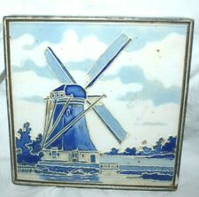 "Estate=Made in Holland, Thick Tile of Windmill Adorable Accent 5"" x 5"" Look"