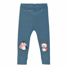 Next Leggings With Ornaments Striped Navy 3-6mths