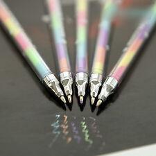 6 PC/6 colores del caramelo del gel bolígrafos de tinta de la pluma de tiza