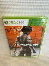 Remember Me (Microsoft Xbox 360, 2013) New Sealed