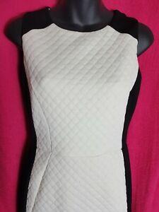 Gorgeous COAST Black & White Sleeveless Dress size 8