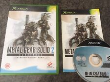 Metal Gear Solid 2 Substance Xbox Game! Complete! Look In The Shop!