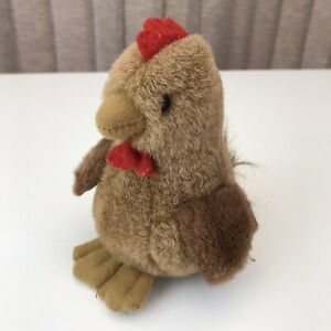 Country Hen/Chicken Brown  Soft Toy 15 cms high 10cms wide approx.