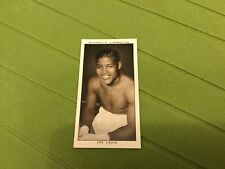 ORIGINAL STEPHEN MITCHELL GALLERY OF 1935 CIGARETTE CARD EXC! JOE LOUIS BOXING!