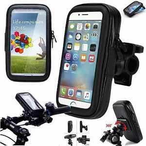 360° Waterproof Bike Bicycle Mount Holder Phone Case Cover For iPhone 6 6s
