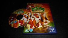 DISNEY CLASSICS : THE FOX AND THE HOUND DVD - FAST/FREE POSTING.