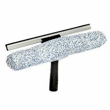 "Alpine Industries 14"" Microfiber 2in1 Professional Squeegee and Window Scrubber"