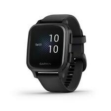 Garmin Venu Cuadrado Música Edición Reloj GPS Negro Con Gris Bisel 010-02426-00