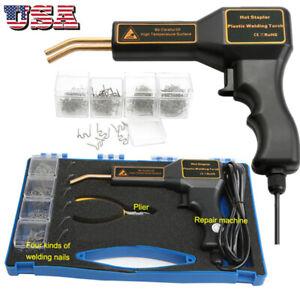 Handy Plastics Welder Staple PVC Repairing Machine Hot Stapler Bumper Repair