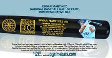 EDGAR MARTINEZ SEATTLE MARINERS MLB HALL OF FAME JOLENE JESSIE ART BAT