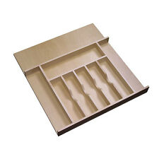 Rev-A-Shelf Wooden Cutlery Tray Insert Organizer for Cabinet Drawers (Open Box)