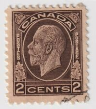 1932-1933 Canada - King George V - 2 Cent Stamp (a)