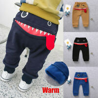 Infant Kid Girls Boys Baby Big Mouth Tongue Monster Pants Bottom Cotton Trousers
