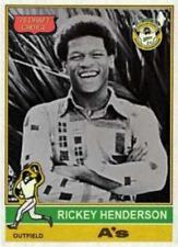 RICKEY HENDERSON 1976 DRAFT ACEO ART CARD #B# BUY 5 GET 1 FREE ## COM SHIPPING