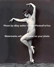 Old 1925 Nude/Topless Ziegfeld Follies Flapper Woman/Girl Louise Brooks Photo