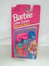 New 1994 Barbie Doll LITTLE EXTRAS BATHROOM BASICS ACCESSORIES Mattel #67036-94