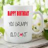 Novedad Divertida Tazas HUMOR ADULTO Expositor REGALOS Happy Birthday Gruñón