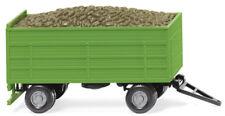WIKING Modell 1:87//H0 LKW Dreiseiten-Kippanhänger orange #067804 NEU//OVP