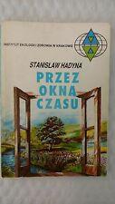 Przez okna czasu by Hadyna Stanisław 1993 paperback Jasnowidząca z Wisły