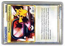 PROMO POKEMON CHAMPIONSHIPS 2010 No. 98/123 COMMUNICATION PIKACHU (Sign worm. 2)