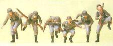 H0 Preiser 16878 Sitting Down Armoured infantry. Figurines