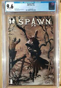 Spawn 174 CGC 9.6 1st Full Gunslinger App + Cover 🔥🗝