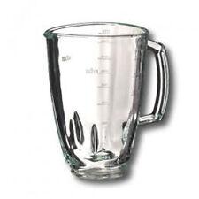 BRAUN JUG MX2000 MULTIQUICK 3 5 GLASSES GLASS 4184 4186 JB3060 POWERBLEND