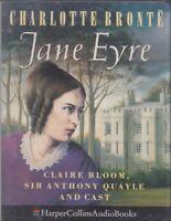 Jane Eyre Charlotte Bronte 2 Cassette Audio Cast Drama Claire Bloom FASTPOST