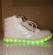 LED Light Up Shoes Men Size 10