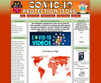 Pandemic Protection Products Website,  Amazon Store, Adsense Earnings