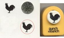Small ROOSTER Paper Punch BY Punch Bunch -Quilling-Cardmaking-Scrapbooking NEW