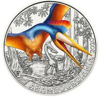 3 Euros Commémorative Autriche Coloful Creatures 2020 - Arambourgiania