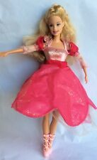BARBIE DOLL - 12 DANCING PRINCESSES – GENEVIEVE – LIGHT UP & SPIN SKIRT - MATTEL