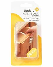 Safety 1st 14 Pack Wide Grip Cabinet Child Proof Baby Locks & Drawer Latches