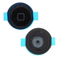 Para Apple iPad Air 5th Gen Home Botón Key Gasket Rubber Seal Negro A1475 A1476