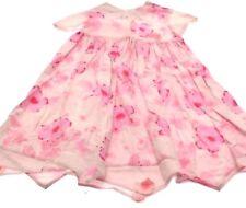 Girls Little Darlings dress pink floral design Age 3-4