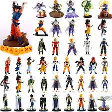 Anime Dragon Ball Z Super Saiyan Son Gokou Vegeta Trunks Freeza Model Figure Toy