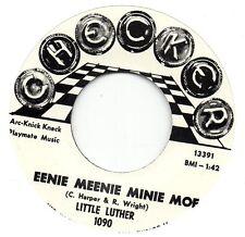 LITTLE LUTHER  EENIE MEENIE MINIE MOE / TWIRL  CHECKER  Re-Pro/Re-Issue  60s R&B