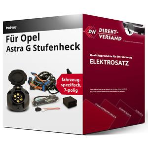 E-Satz 7polig spezifisch für Opel Astra G Stufenheck 09.1998-02.2005 neu