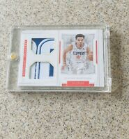 Jerome Robinson LA Clippers National Treasures 1/1 Patch Very Clean Super Rare🔥
