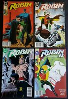 ROBIN (1991) LIMITED SERIES LOT 1 (POSTER INCL) 3 5 ROBIN II #1 NEWSSTAND ISSUES
