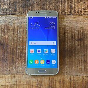 Samsung Galaxy s6 (SM-G920A) 128GB ATT AT&T CLEAN CRACKED BACK  #33