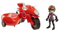 Incredibles 2 Junior Elasticycle and Elastigirl Playset Age 3+ Toy Play Car Race