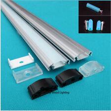 10pcs 1m 25*9mm flat led aluminium profile for 8-12mm strip,led bar light