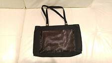 AUTHENTIC VERSACE MEDUSA BLACK TOTE BOSTON BOWLING HAND BAG PURSE $1,095