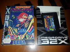 ## SEGA Mega Drive 32X - Knuckles Chaotix (ohne Anleitung) ##